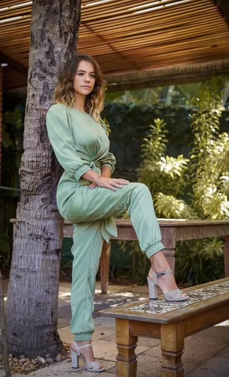 A atriz Miá Mello Foto: Andre Wanderley / Divulgação