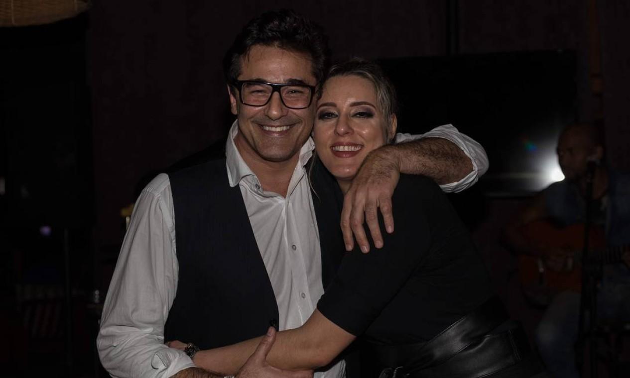 Luciano Szafir é atualmente casado com a cantora Luhanna Melloni Foto: Divulgação