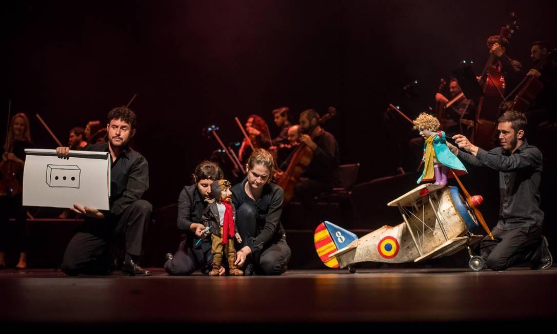 'O pequeno príncipe', Orquestra Ouro Preto Foto: Íris Zanetti / Divulgação