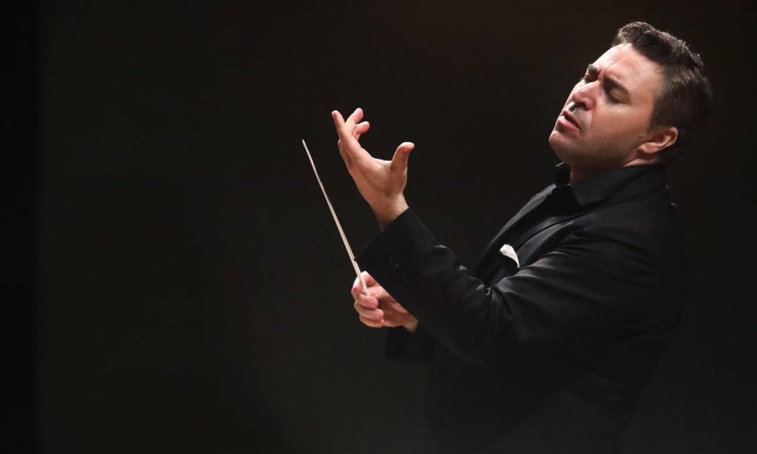 O violinista e regente russo Maxim Vengerov Foto: Divulgação