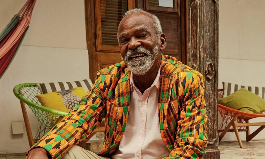 O ator Antonio Pitanga, aos 80 anos Foto: Leandro Tumenas / Agência O Globo