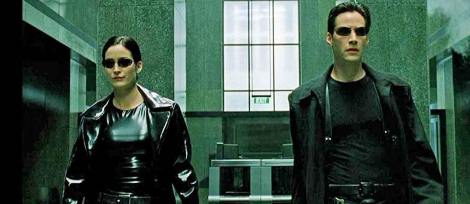 Sucesso no final dos anos 1990, 'Matrix' completa 20 anos e ganha reapresentações Foto: Divulgação