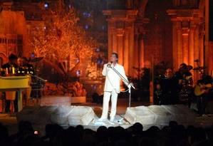 'Roberto Carlos em Jersusalém' é um registro do show feito na na Terra Santa em 2011 Foto: Divulgação