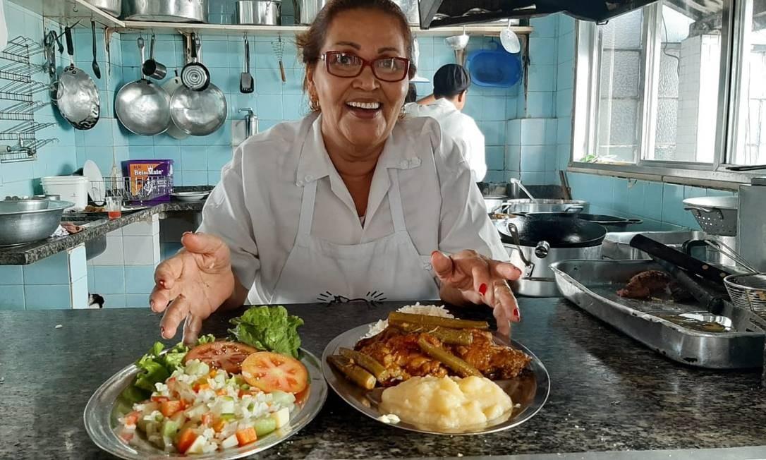 Pensão Santa Luzia: uma pérola no Centro, com comida boa, farta e barata Foto: Divulgação