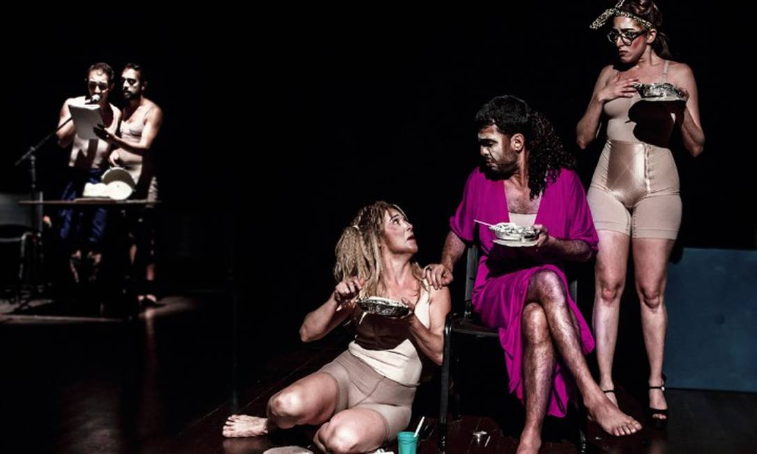 Cena da peça 'Ielda — Comédia trágica' Foto: Fernando Machado / Divulgação