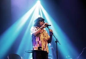 O cantor Milton Nascimento durante apresentação da turnê 'Clube da Esquina' Foto: Lucas Tavares / Agência O Globo
