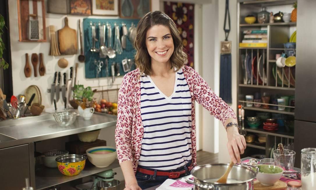 A chef e apresentadora Rita Lobo: ações especiais na internet Foto: Divulgação