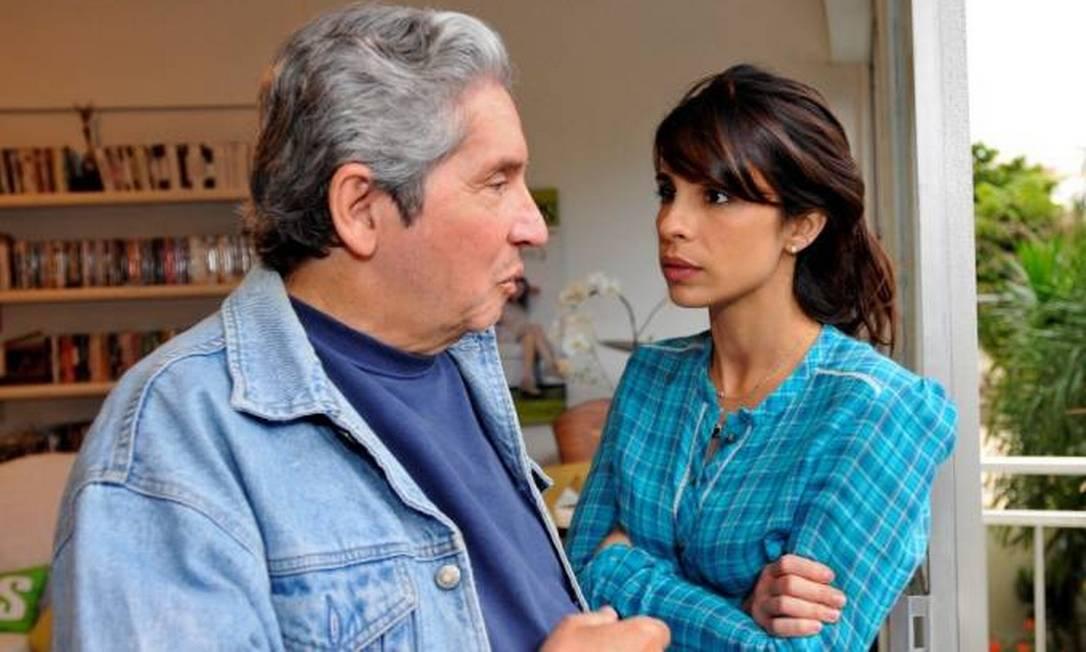 O filme 'Domingos' (Brasil, 2009), dirigido por Maria Ribeiro, apresenta o dia a dia do autor Domingos Oliveira (1936-2019) Foto: Divulgação