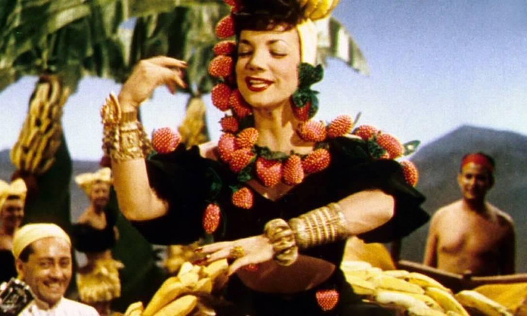 De Helena Solberg, 'Carmen Miranda - Bananas is my Business' foi exibido na primeira edição do festival, em 1996 Foto: Divulgação