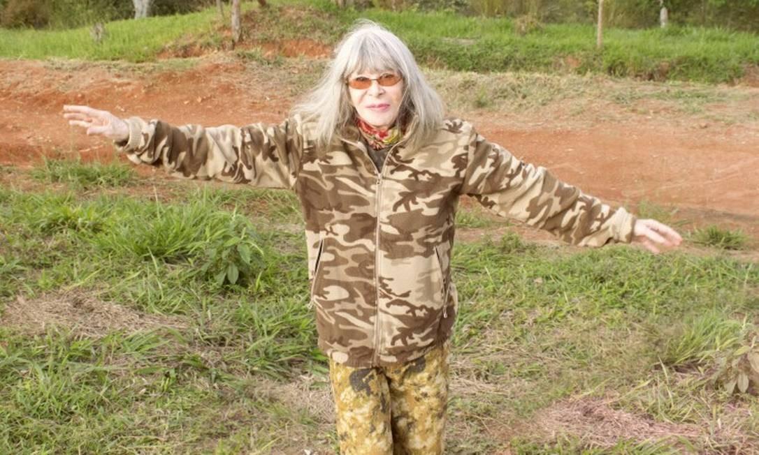 A cantora Rita Lee Foto: Guilherme Samora / Dviulgação