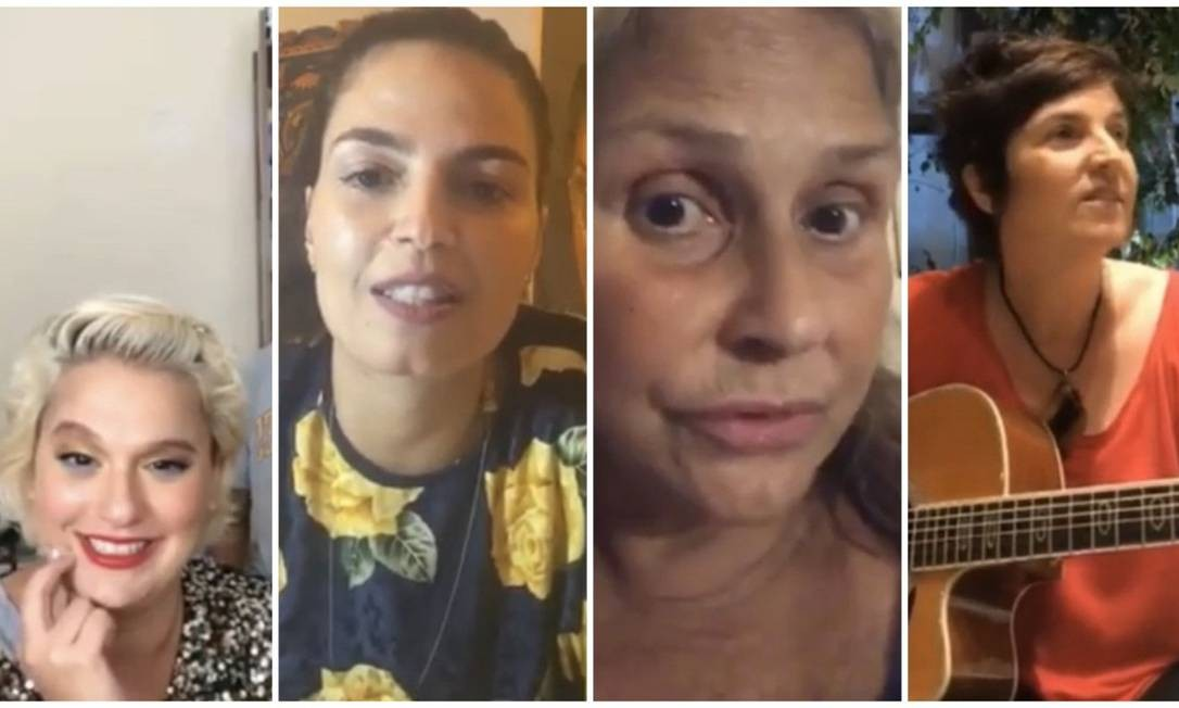 #tamojunto: primeiro dia da segunda edição do festival teve Alice Caymmi, Emanuelle Araújo, Fafá de Belém e Isabella Taviani Foto: Reprodução YouTube