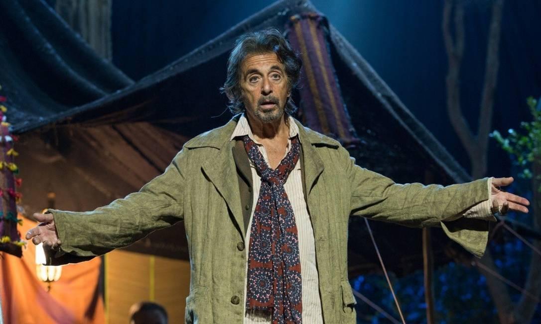 O ator Al Pacino em cena do filme 'O último ato' Foto: Divulgação