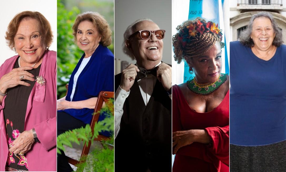 Nicette Bruno, Eva Wilma, Ney Latorraca, Elisa Lucinda e Teuda Baura: nomes confirmados na E-mostra Foto: Agência O Globo