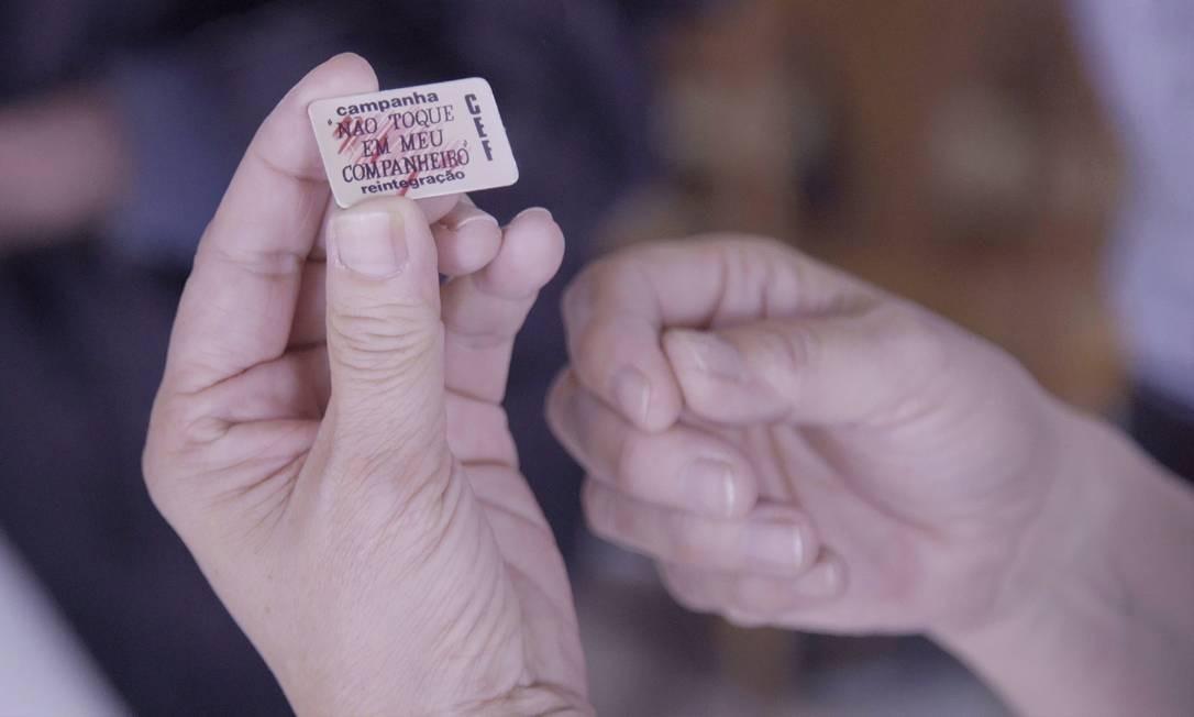 Trecho do filme 'Não toque em meu companheiro', da diretora Maria Augusta Ramos Foto: Divulgação