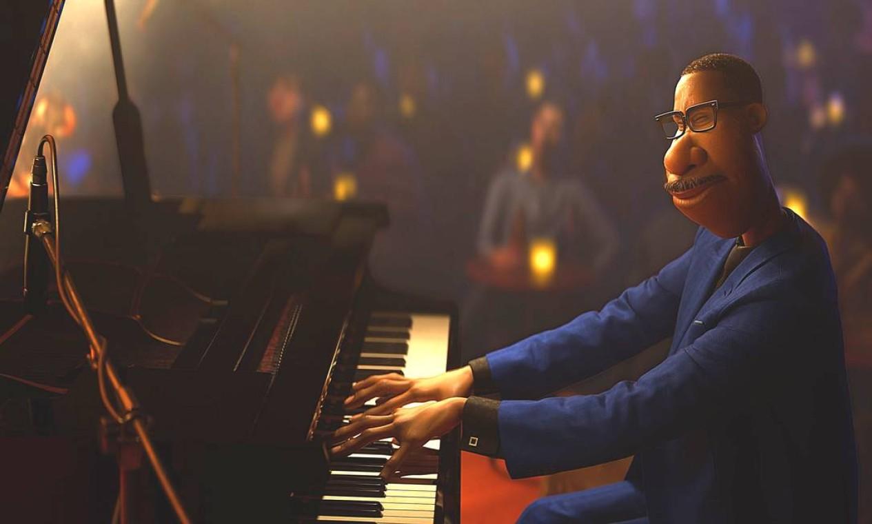 """Cena do filme de animação """"Soul"""", da Pixar: disponível no Disney + Foto: Divulgação"""
