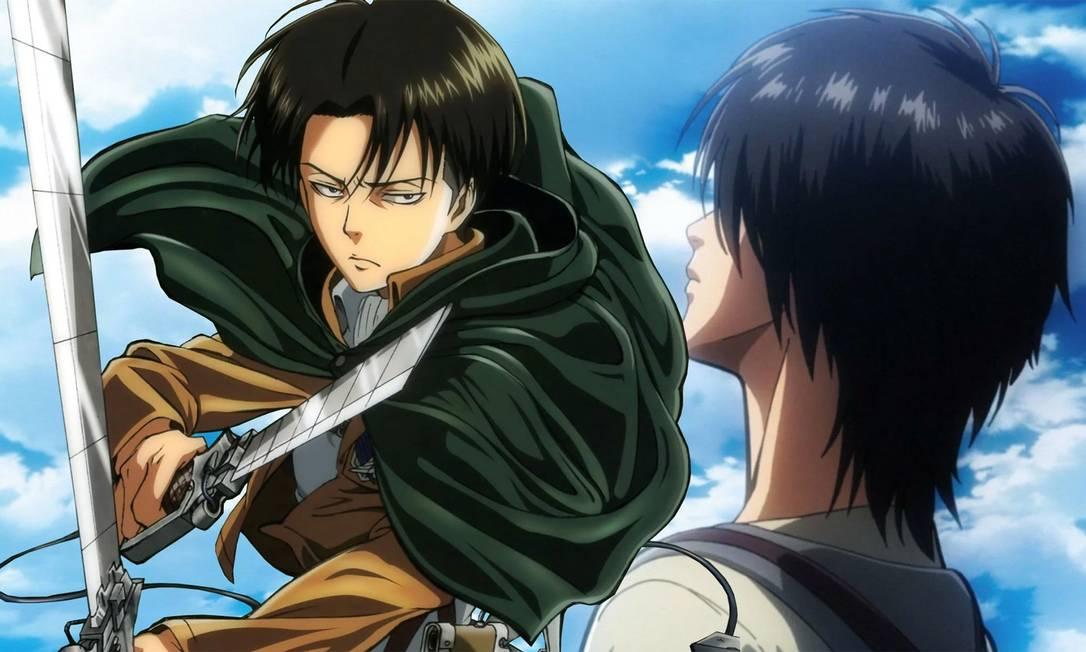 'Attack on titan': anime de sucesso está disponível no Brasil nas plataformas Crunchyroll e Funimation Foto: Divulgação