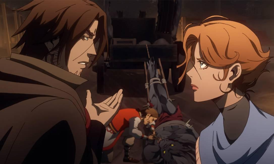 'Castlevania': anime é uma das produções de maior sucesso na Netflix Foto: Divulgação