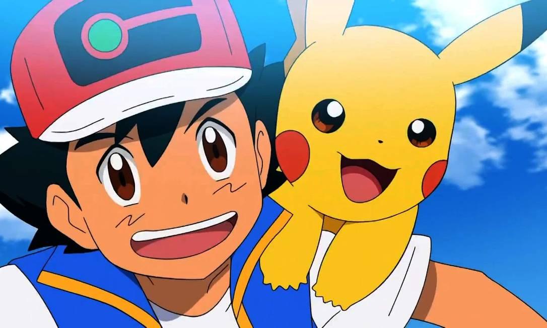 Pókemon: anime de maior faturamento está disponível no NOW, no Prime Video e na Netflix Foto: Divulgação