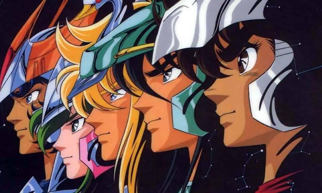 'Cavaleiros do Zodíaco': antiga e nova versão do anime estão na Netflix Foto: Divulgação