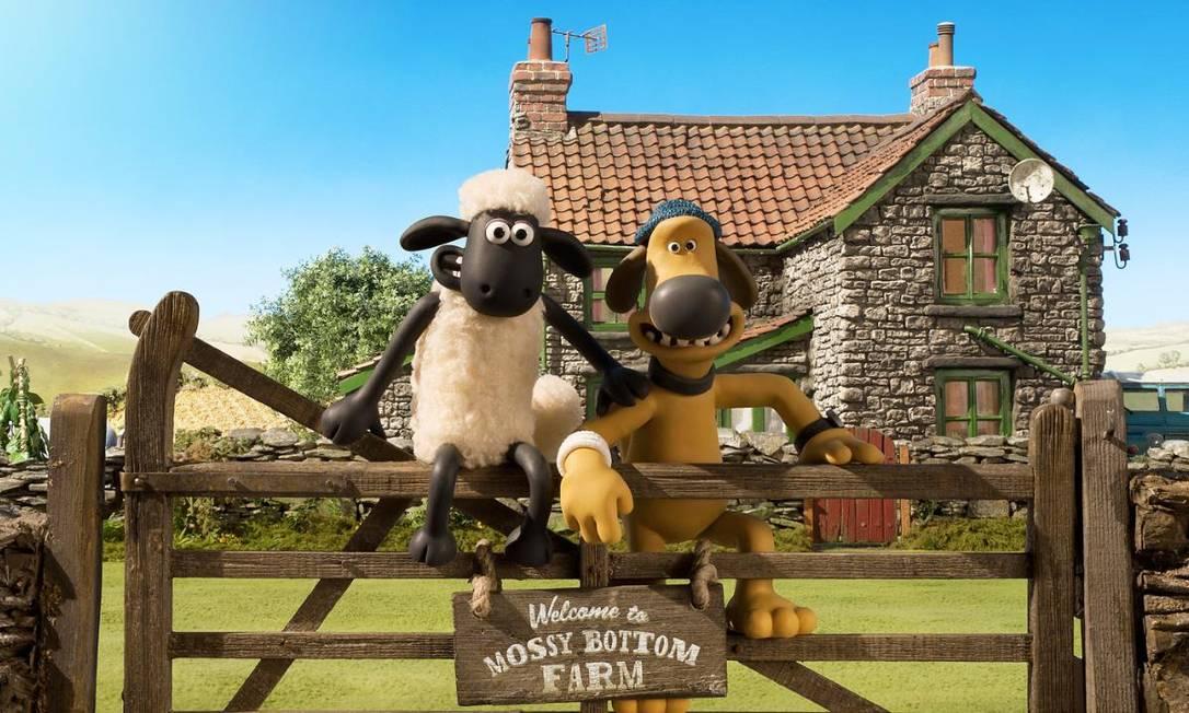 'Shaun, o carneiro': dos mesmos criadores de 'A fuga das galinhas', está na Netflix Foto: Divulgação