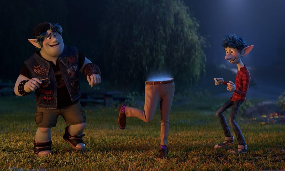 """Cena da animação """"Dois irmãos — Uma jornada fantástica"""", indicado ao Oscar 2021: filme está disponível no Disney + Foto: Divulgação"""