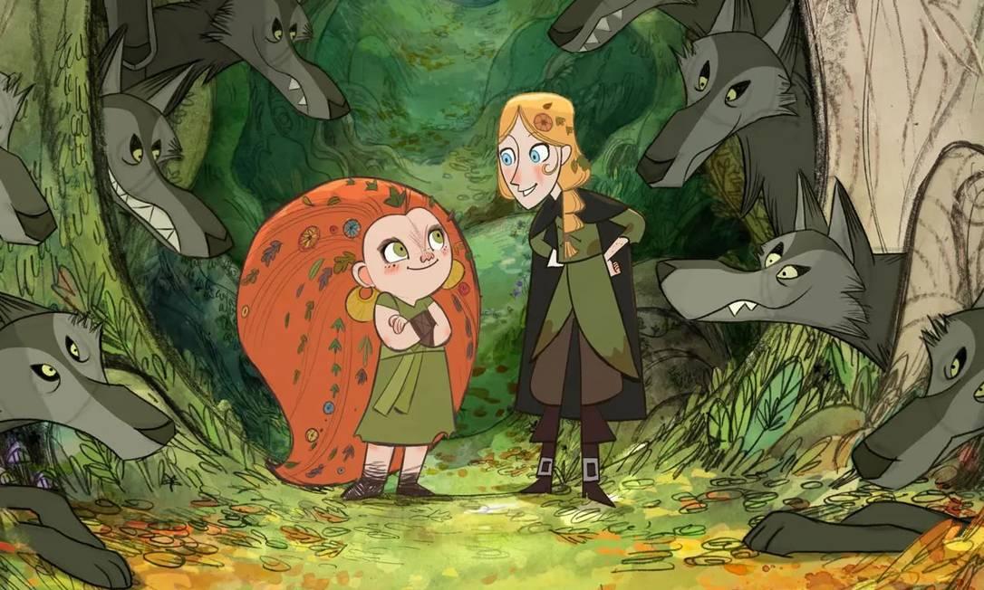 'Wolfwalkers': indicado ao Oscar 2021, animação diretor irlandês Tomm Moore pode ser vista na Apple TV + Foto: Divulgação