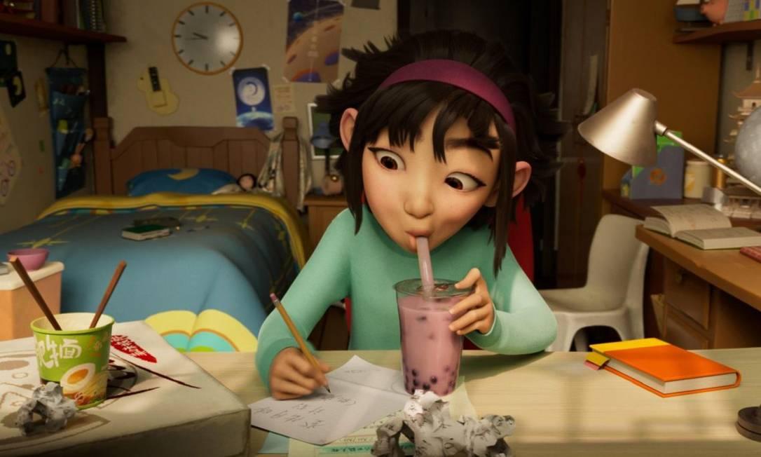 'A caminho da lua': animação sobre garota que constrói foguete pode ser vista na Netflix Foto: Divulgação