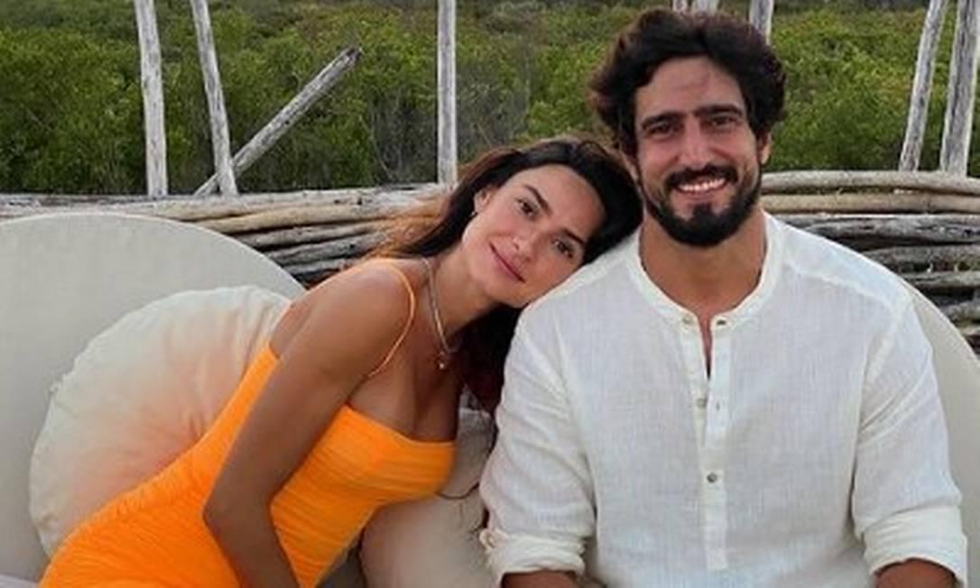 Os atores Thaila Ayala e Renato Góes Foto: Reprodução / Instagram