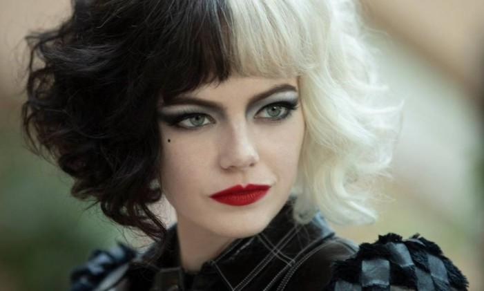 A atriz Emma Stone protagoniza o filme 'Cruella' Foto: Divulgação