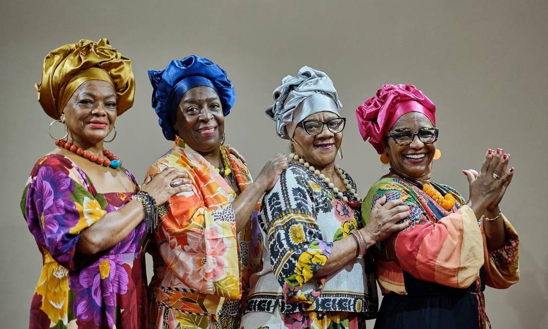 Grupo Matriarcas do samba. Foto: Divulgação
