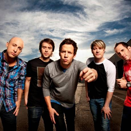 A banda canadense Simple Plan Foto: Chapman Baehler / Divulgação