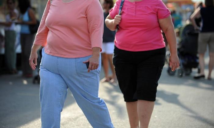 Obesos poderão perder benefício de £100 por semana Foto: TIM SLOAN / AFP
